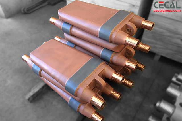 Cecal Plate Coolers For Blast Furnace Casting And